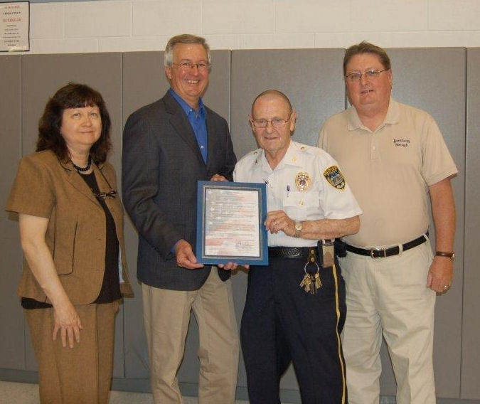 Brookhaven police chief honored for 30 years of service