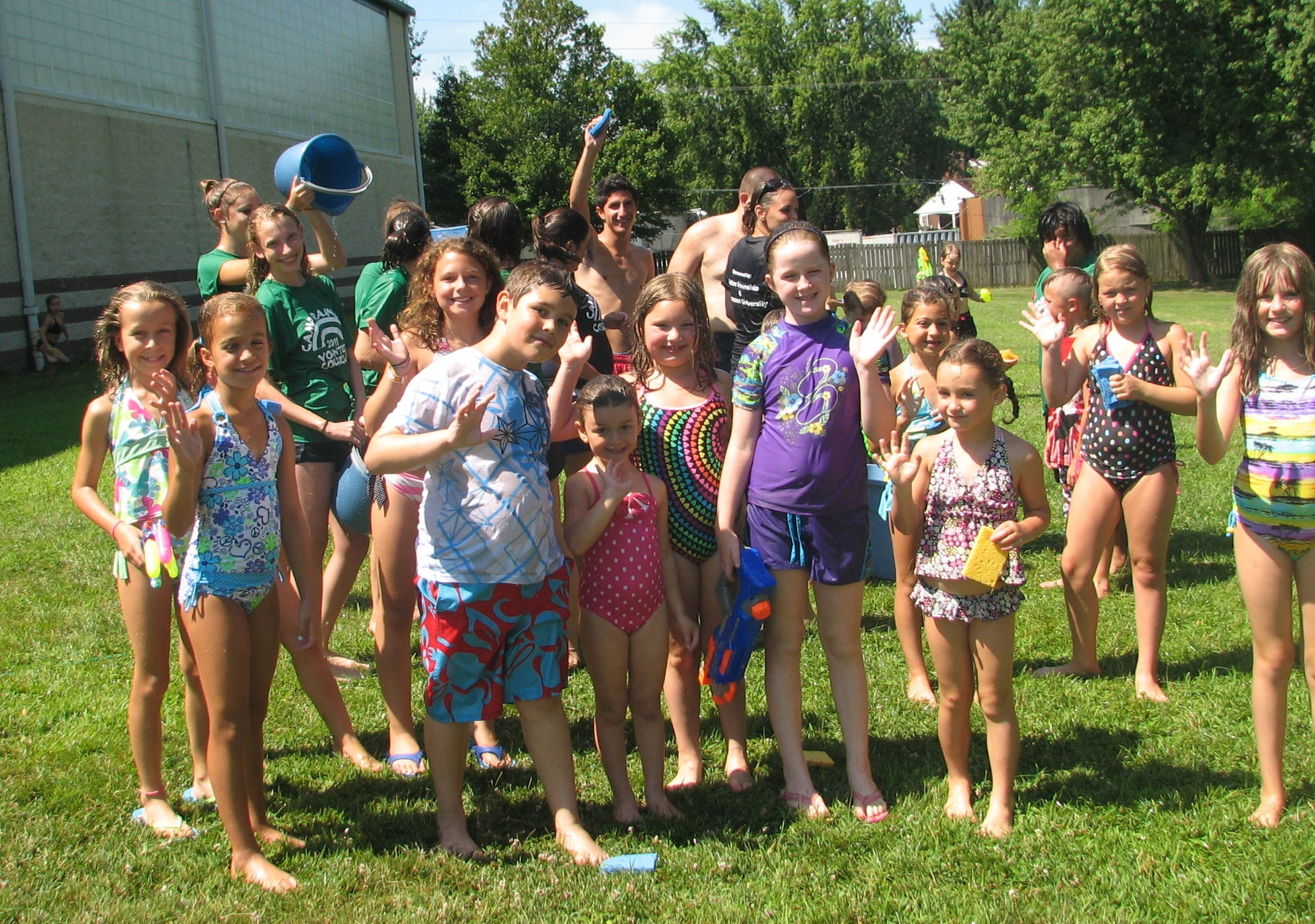 Local kids enjoy Camp Rainbow