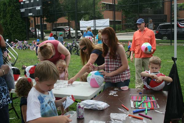 Local communities celebrated America's birthday with fun events
