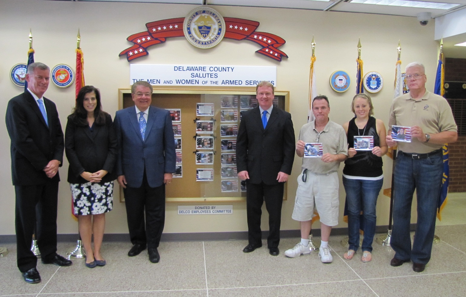 County Council updates Armed Services tribute board with three area veterans