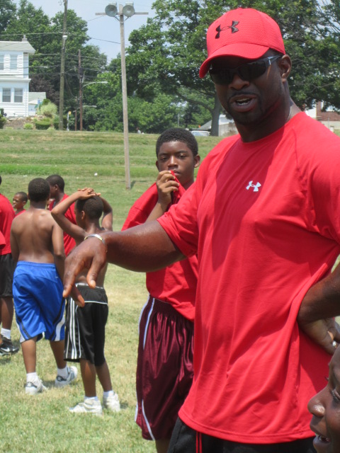 100 kids benefit from summer camp provided by native Chester pro football players