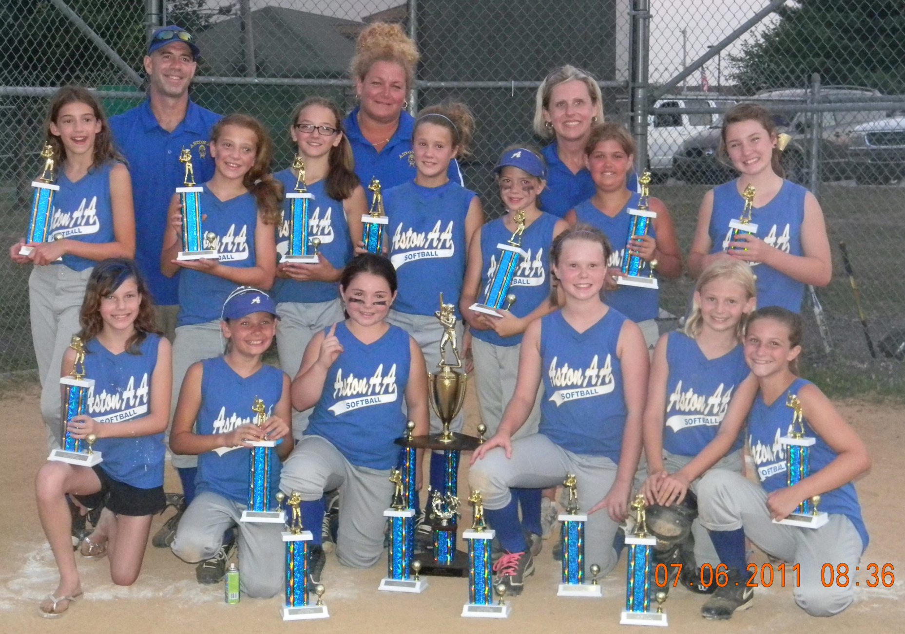 Champion Lady Bandits steal softball season