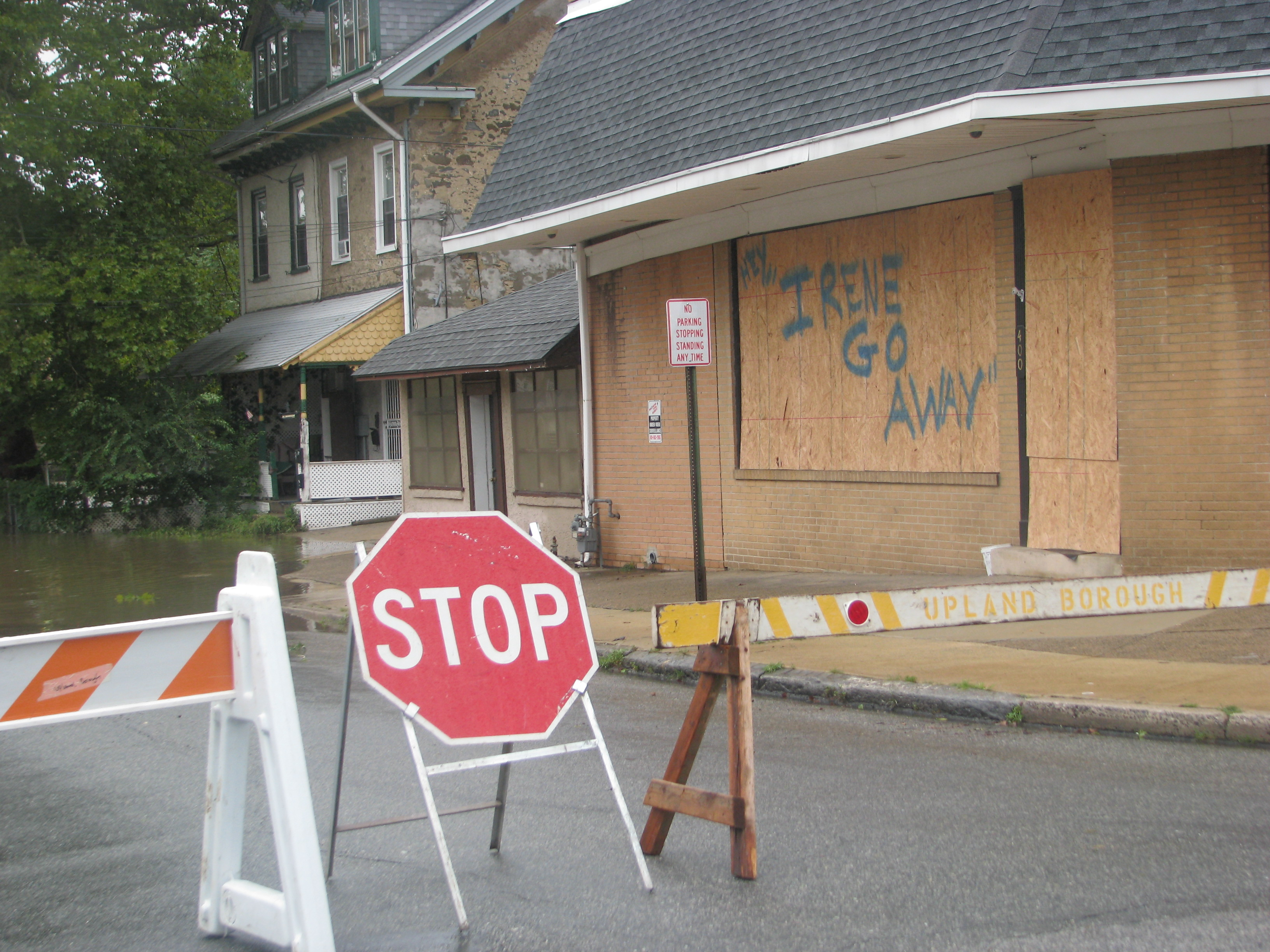 Hurricane Irene caused havoc in local communities