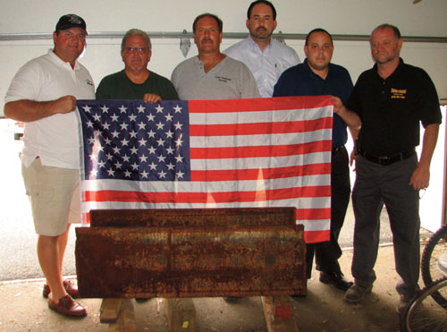 World Trade Center beam to be cornerstone for 9/11 memorial in Lower Chichester
