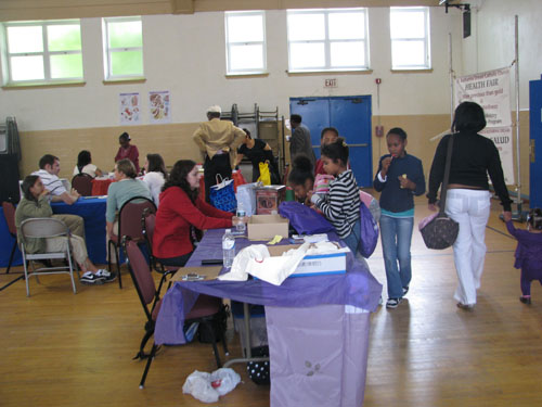 Health Fair attracts dozens