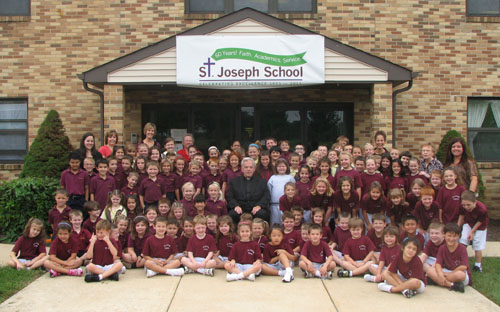 St. Joseph School re-dedicated in 60th anniversary gala celebration