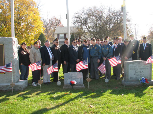 Brookhaven Honors Veterans with solemn remembrance