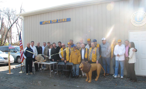 Lions Club dedicates new headquarters