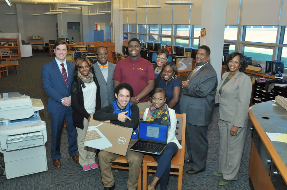 CKHS donates laptops to STEM School at Showalter in Chester