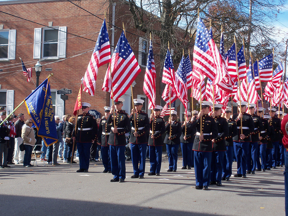 Media hosts largest Veterans Day parade in PA