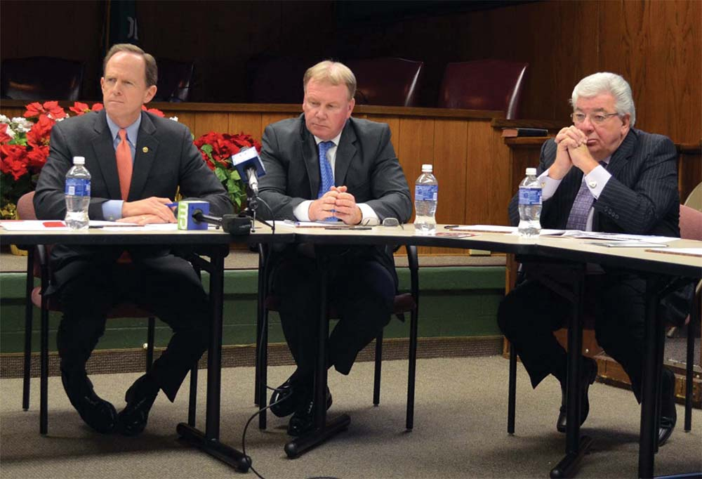County officials join Toomey for drug abuse roundtable