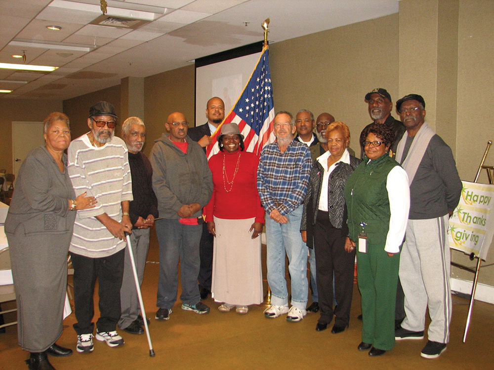 Chester salutes vets with holiday luncheon