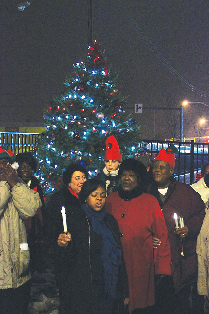 CHA rings in holiday season with tree lighting and sleigh rides
