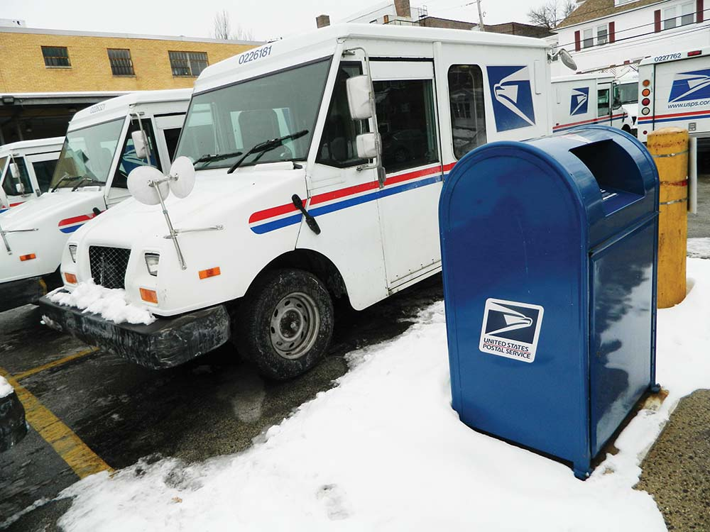No snow days for postal workers