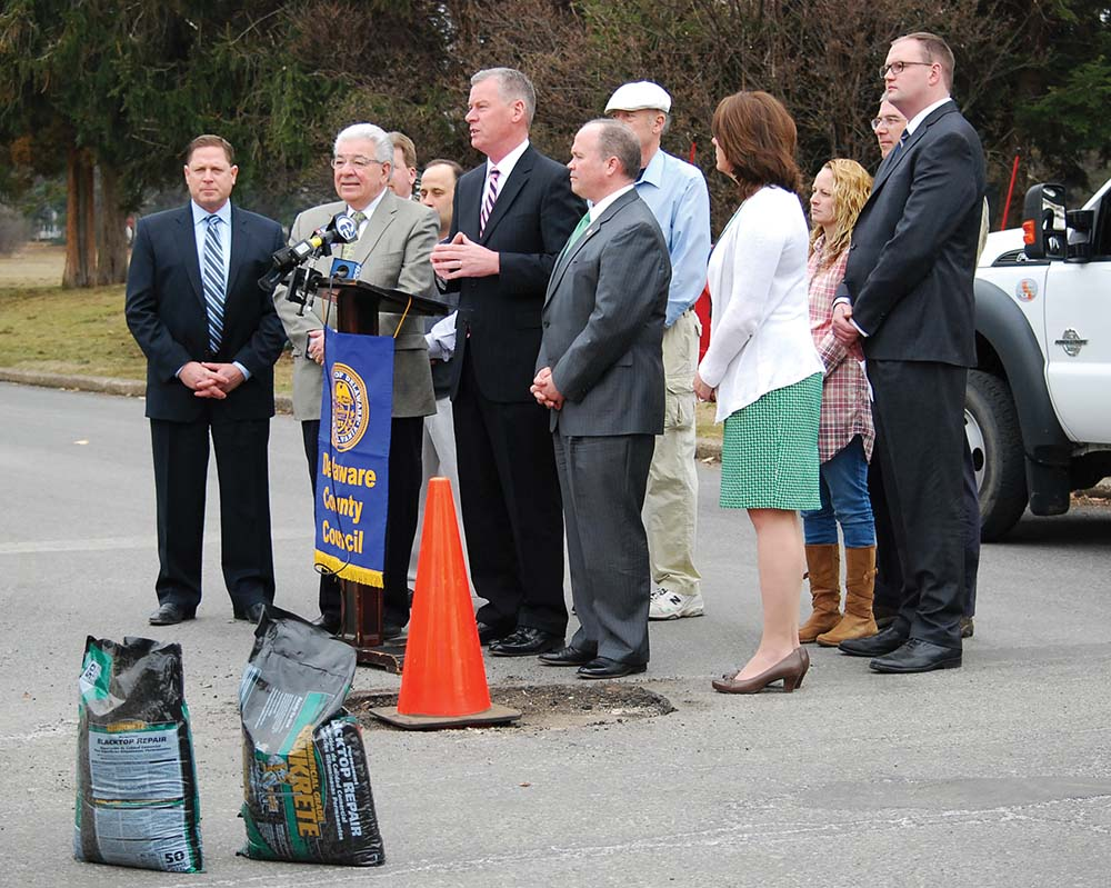 County leaders to help municipalities fill potholes and budget gaps