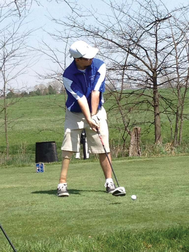 Widener senior's just another golfer
