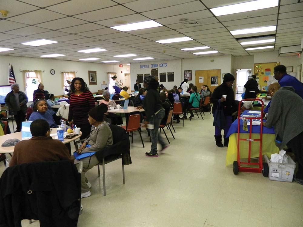 Keeping seniors safe, informed and aware of scams was key part of Community Resource Day