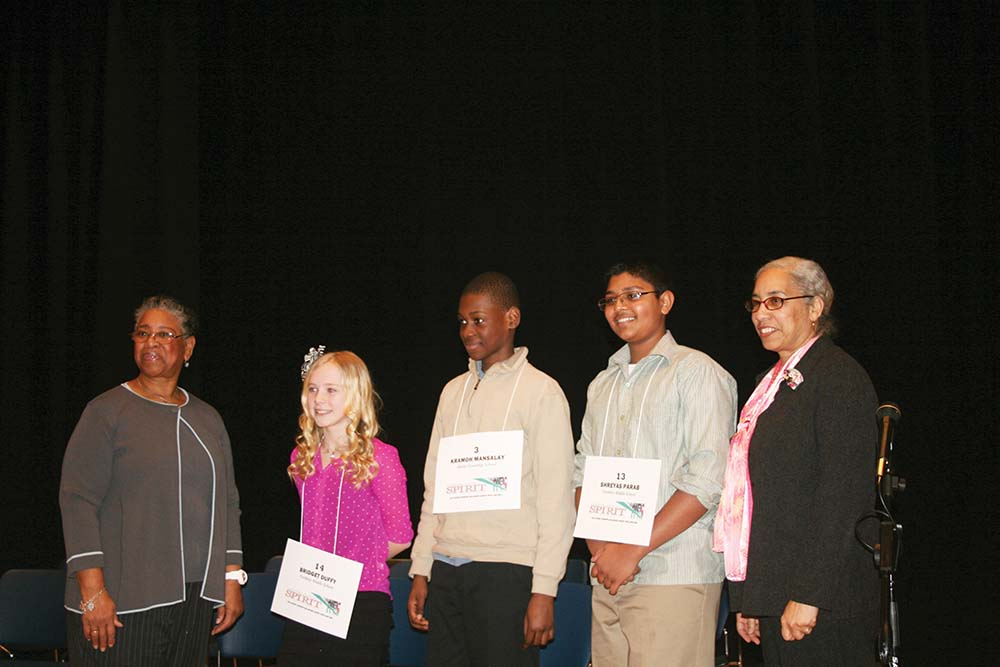 Parab wins Delco Bee again! Northley and Darby kids are big winners