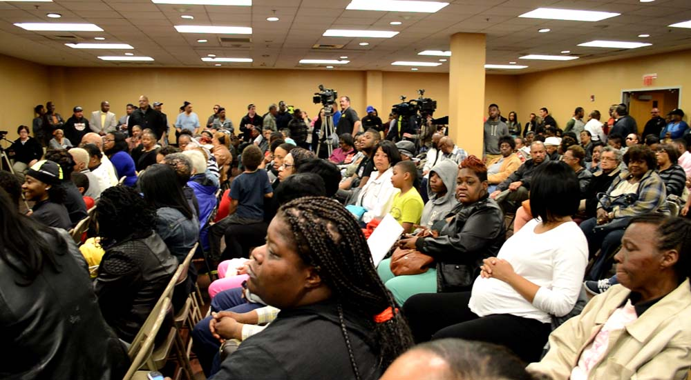 Chester residents demanded productive action from City Council regarding unsolved murders, tampered evidence and police brutality