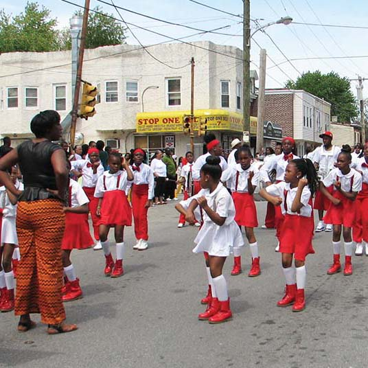 Chester celebrates mothers with annual parade