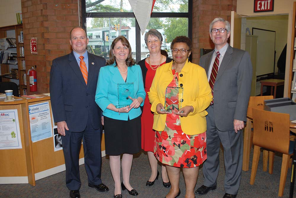 Delco Library System presents awards at annual legislative event