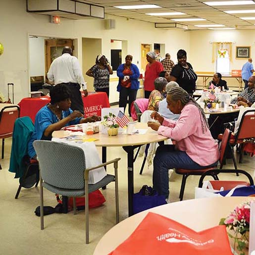 Annual Chester Senior Center health fair offers encouragement to seniors