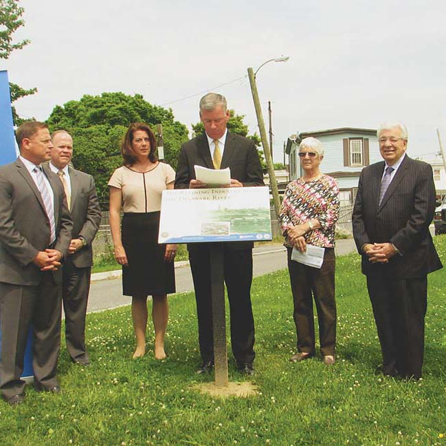 New signs celebrate importance of energy industry in Delco history