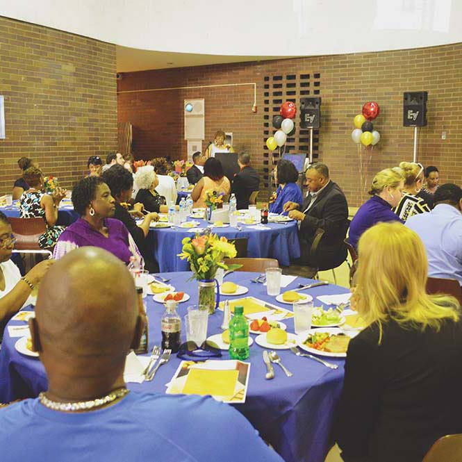 Chester Upland celebrates staff and community contributions