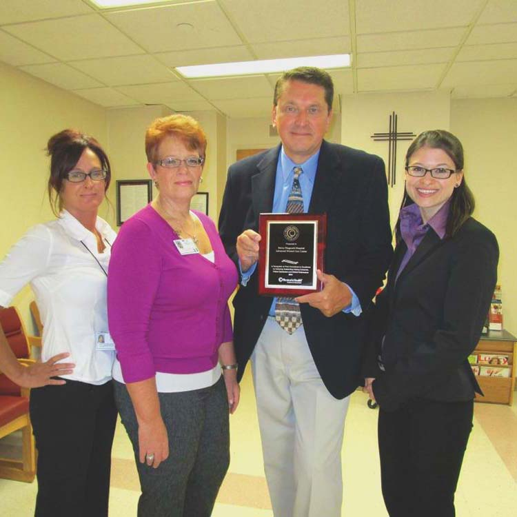Mercy Fitzgerald wound care center wins excellence award