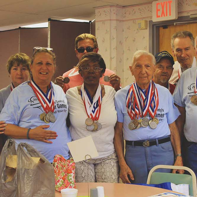 SCS honors 2014 Senior Games medalists