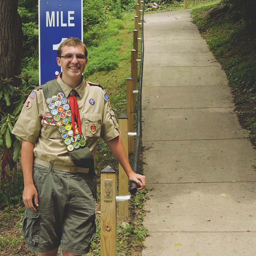 Parkside honors Eagle Scout