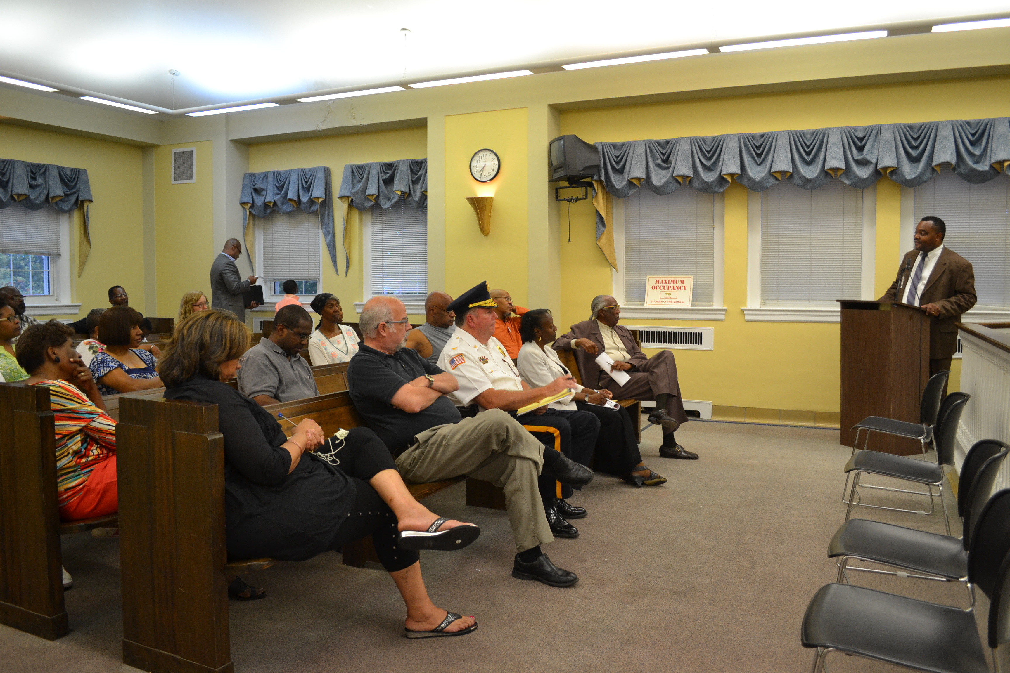Yeadon mayor talks about taxes and shooting at forum