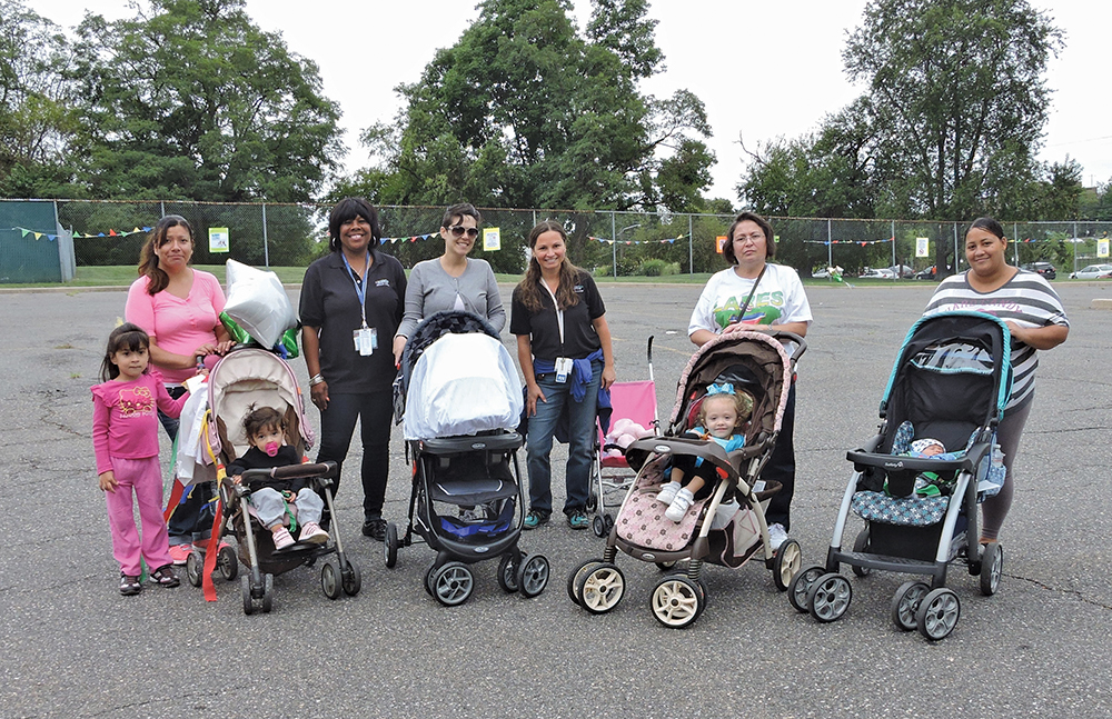 Weekend fair was all about families and children