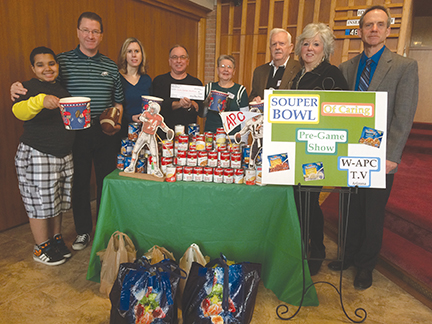 Local church scores big on Souper Bowl Sunday