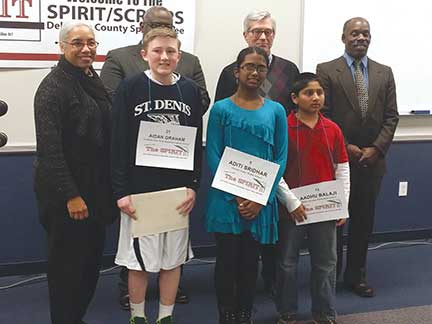 First Catholic school student wins Delco Spelling Bee