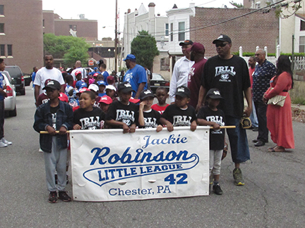 Batter up!    Jackie Robinson Little League opens 9th season