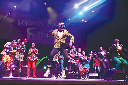 Ugandan orphaned children's choir coming to the area