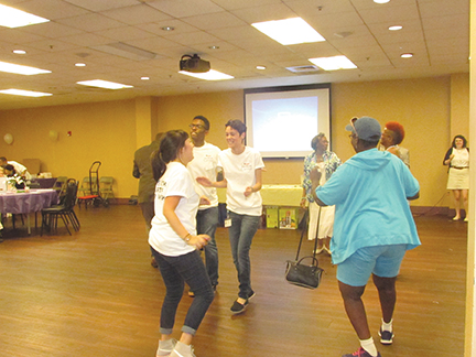 Health plan interns turn it up with Chester seniors