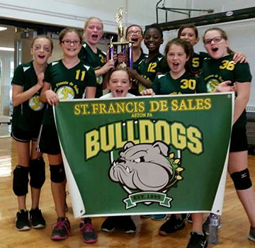 St. Francis de Sales wins volleyball championship