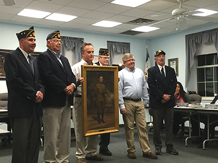 A Final Resting Place WWI soldier's historic portrait to hang in Lansdowne