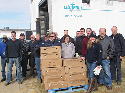 Turkeys donated to local charity
