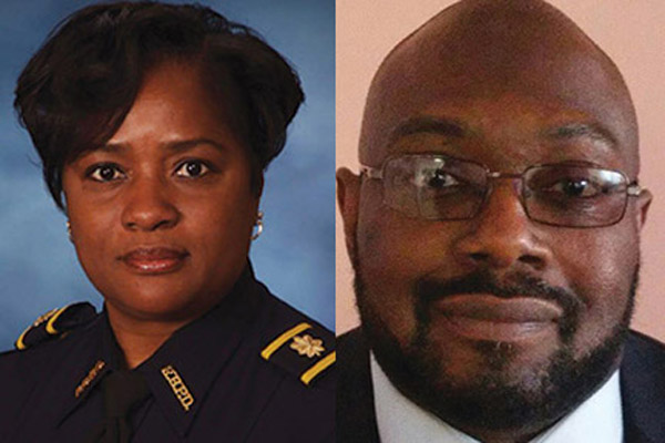 Commissioners make historic police appointment
