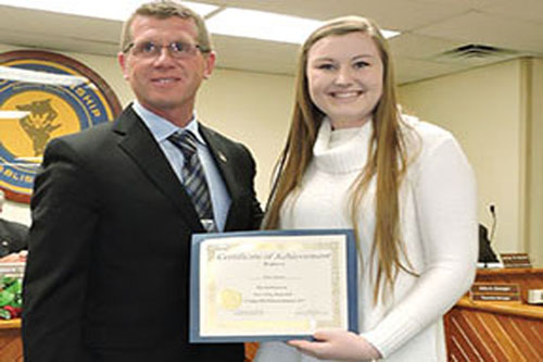 High school b'baller recognized for historic achievement