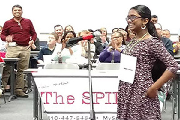Second Time Around: GV student wins 2016 Delco Spelling Bee