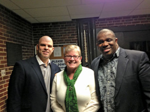Organizers of the landmark event included (from left) Rev. Michael Fitzpatrick, Rev. Donna Sarog and Rev. Michael Allison.