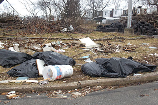 Illegal dumping continues irking city, residents