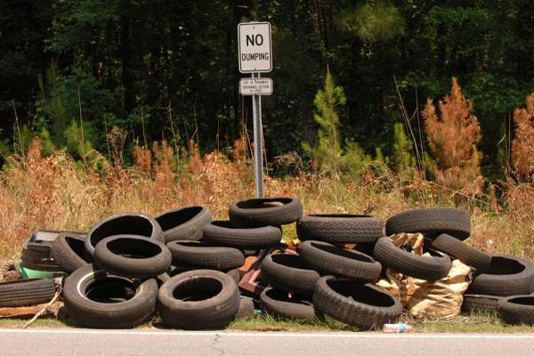 Chester arrests one for illegal dumping