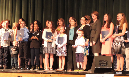 Students and adults honored by Delco Right to Education Task Force