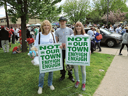 Enough is Enough! Thousands walk for drug abuse/overdose awareness