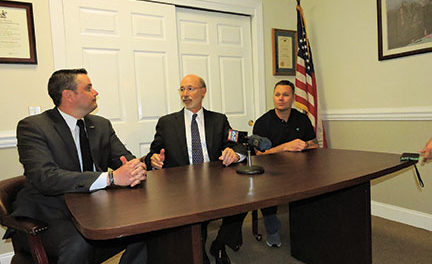 Gov. thanks local rep. for medical marijuana support